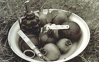 Sowieckie granaty ręczne - Afganistan 1979-1989